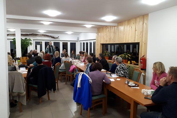 Utrinki iz 2. srečanja HumanUP atlasologov Slovenije