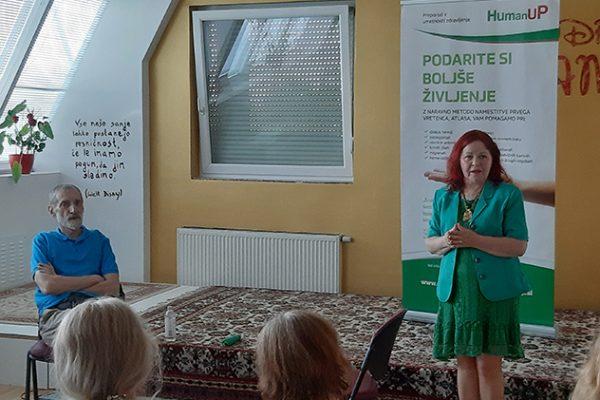Atlasologa Predrag Đorđević in Marija Bizjak na predstavitvi HumanUP metode (3)
